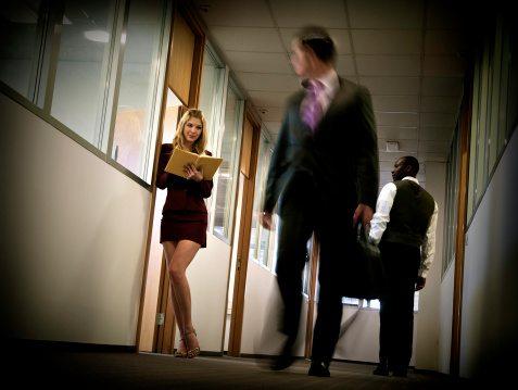 Office Hottie: Flirtation 1